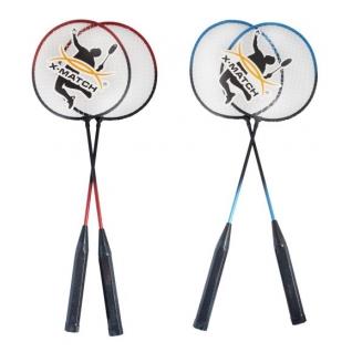 Набор ракеток для бадминтона X-Match в чехле на молнии
