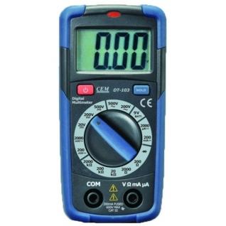 Карманный цифровой мультиметр СЕМ DT-103
