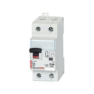 Дифференциальный автомат 2-полюсный 10А 30мА