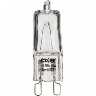 Электрическая лампа СТАРТ галог.капс.40W G9 220V CL