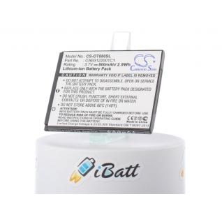 Аккумуляторная батарея iBatt для смартфона Alcatel One Touch 888. Артикул iB-M498 iBatt