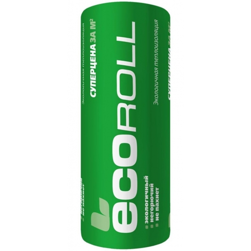 КНАУФ Экоролл утеплитель 6800х1220х50мм (2шт=16,6м2=0,83м3) / KNAUF Ecoroll теплоизоляция рулон 044 6800х1220х50мм (16,6м2=0,83м3) (упак. 2шт.) Кнауф 36984121