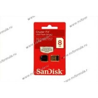 Флеш накопитель USB 8Гб SanDisk Cruzer Fit