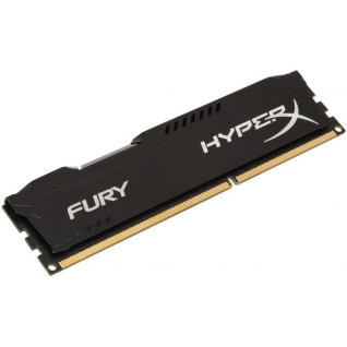 Память DIMM DDR3 4Gb 1600MHz Kingston HyperX Fury [HX316C10FB/4] Black Series, RTL, PC3-12800, CL10