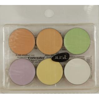 JUST - Профессиональная палитра корректоров в блистере на 6 цветов