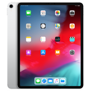 Планшет Apple iPad Pro 12.9 (2018) 512Gb Wi-Fi+Cellular Silver MTJL2