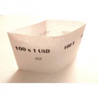 Кольцо бандерольное готовое номиналом 1 $ (упаковка 500 колец)