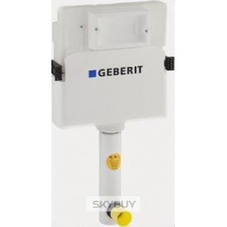Смывной бачок скрытого монтажа Geberit UP 100 109.100.00.1 для унитазов, с отводом