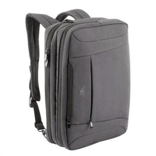 Сумка трансформер RivaCase 8290 charcoal black для ноутбука 16 37855607 2