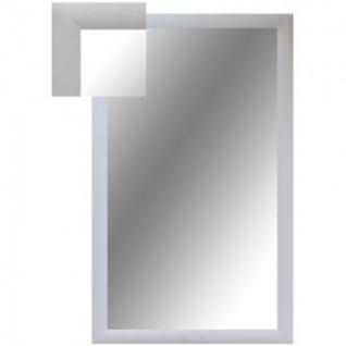 Зеркало KD_ настенное Attache 1801 БШ-1 белый шелк