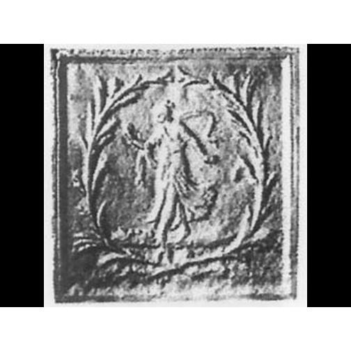 Petite plaque de decoration 853060