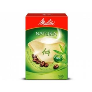 Фильтры бумажные Melitta для заваривания кофе 1х4/80 натура (0100998)