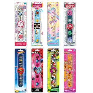 Наручные часы для детей Fresh Trend Fresh Trend SLAP001 Часы с самозакручивающимся браслетом, (в ассортименте)