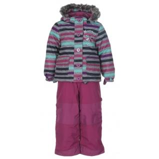 Комплект зимний на мембране с шапкой и шарфом.