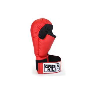 Перчатки для рукопашного боя Green Hill Pg-2047, к/з, красный размер S