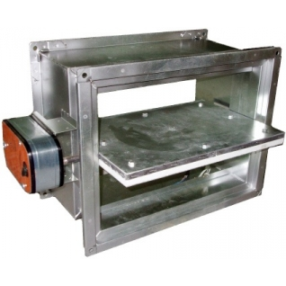 UVS60M 450X450 Огнезадерживающий клапан