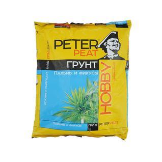 Грунт PETER PEAT Пальмы и фикусы линия Хобби 2,5 л