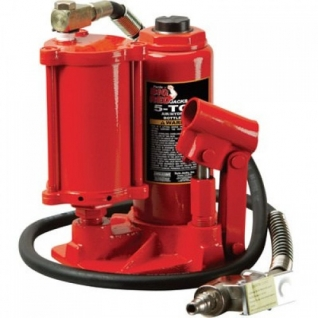 Домкрат бутылочный пневмогидравлический 5 т (h min 210мм, h max 430мм) Big Red