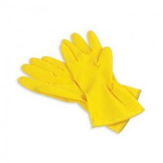 Перчатки резиновые PACLAN Professional латекс желтый р-р L