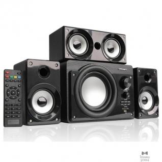 Crown Акустическая система 3.1 CROWN CMBS-390 (МДФ, Bluetooth, 15W+8W*3=39W; приёмник FM; картридер; интерфейс USB; IR пульт, дополнительная фронтальная колонка)