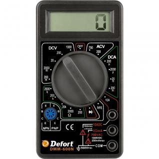 Мультитестер Defort DMM-600N