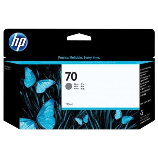 Оригинальный картридж C9450A №70 для принтеров HP Designjet Z2100/3100/3200/5200/5400, серый, струйный, 130 мл 8721-01 Hewlett-Packard 850307