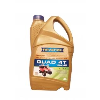 Моторное масло Ravenol QUAD 4T 10W40 4л