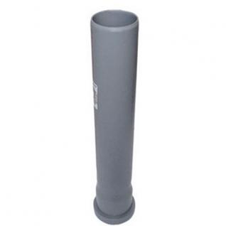 Труба канализационная 100х2.7х500 с кольцом