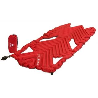 Надувной коврик Klymit Inertia X Wave pad Red, красный (06XWRd01A) KLYMIT