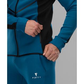 Мужская спортивная толстовка Fifty Intense Pro Fa-mj-0102, синий/черный размер S