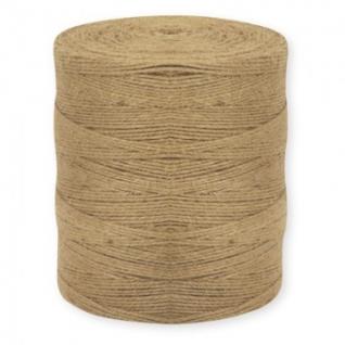Шнур банковский джутовый, полиров., ~1,5 кг, диам 1,5 мм