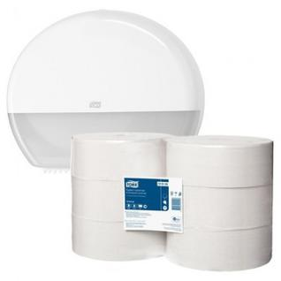 Бумага туалетная Tork Universal T1 1сл бел вторич втул 525м 120195 6рул