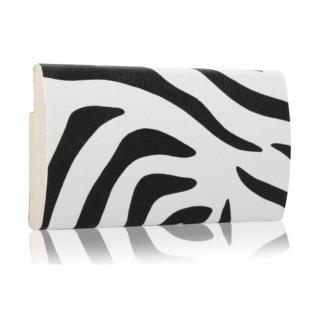 Декоративный профиль кожаный ЭЛЕГАНТ Zebra 70 мм