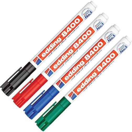 Набор маркеров для CD EDDING E-8400/4S 0,75мм, 4 штуки 37849033 1