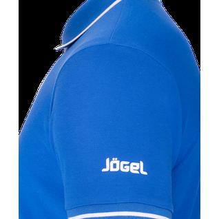 Поло детское Jögel Jpp-5101-071, синий/белый размер YM