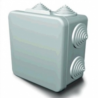 Коробка разветвительная накладная 100х100х55 Гуси IP54