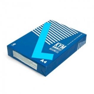 Бумага для ОфТех KYM LUX Business (А4,80г,164%CIE) пачка 500л.