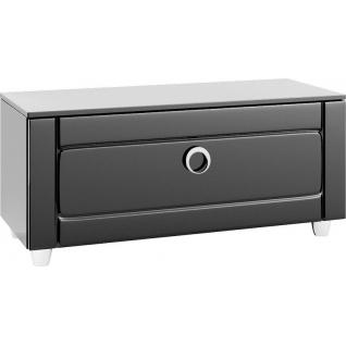 Шкаф напольный AQWELLA 5 STARS Infinity 100 (Inf.03.10/BLK), черный