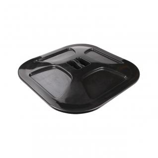 Бочка-бак 300л с крышкой (квадратный) Башпласт «Альтернатива»