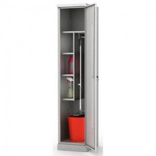Метал.Мебель N_ШМС-6.18 Шкаф хозяйственный 400х450х1850
