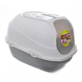 Moderna Products Туалет мега комфи с совком и угольным фильтром, серый
