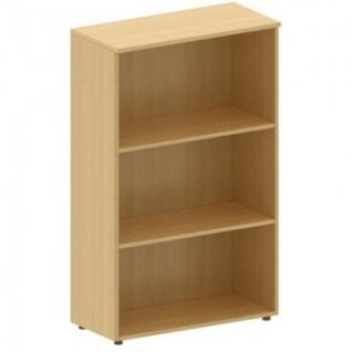 Мебель MON_Канц Стеллаж открытый низкий ШК39.10 бук