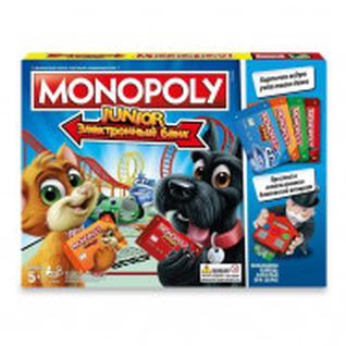 Настольная игра Монополия Джуниор с картами Hasbro E1842121