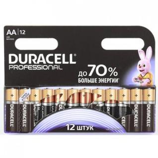 Батарейки DURACELL Professional АА/LR6 бл/12шт