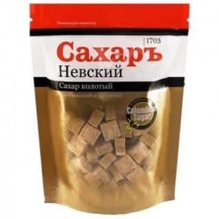 Сахар кусковой прессованный колотый тростниковый 420 г