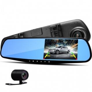 Зеркало заднего вида с видеорегистратором и камерой заднего вида с камерой No name