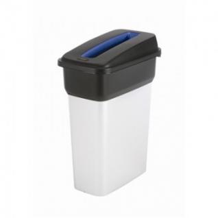 Урна крышка для урны (272209) отверстие для бумаги синее VILEDA