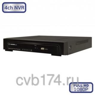 4-канальный IP видеорегистратор MATRIX M-4IP Prime