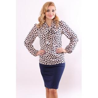 Блуза с длинным рукавом 48 размер