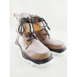 ML8083-1 бежевый ботинки для девочки Malini Robirlo 33-38 (38)